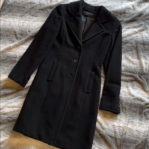 Express cashmere blend pea coat size small